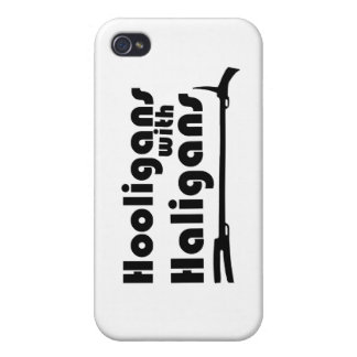 Hooligans with Haligans iPhone 4 Cover