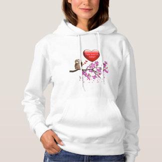 Hooo loves ya, baby? hoodie