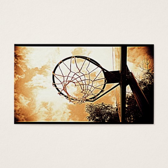 Hoop Dreamin' Business Card