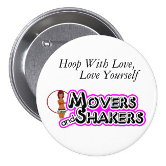 Hoop With Love Love Yourself Pin