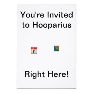 Hooparius Invitation