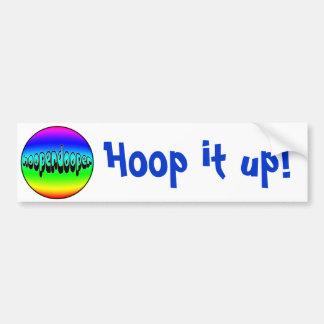 HOOPERDOOPER BUMPER STICKER