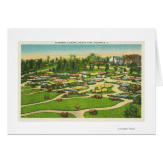 Hoopes Park Perennial Gardens View Greeting Card