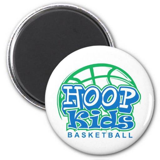 HoopKids Basketball Refrigerator Magnet