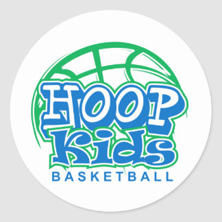 HoopKids Basketball Stickers