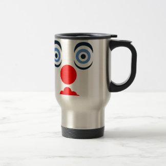Hoopla Clown Design Mugs
