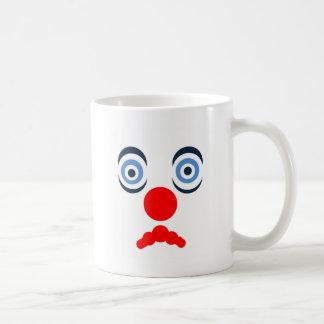 Hoopla Clown Design Coffee Mugs