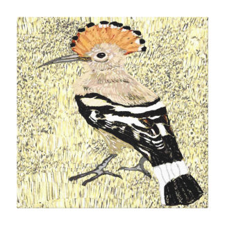 Hoopoe Stretched Canvas Prints