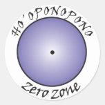 Hooponopono Round Stickers