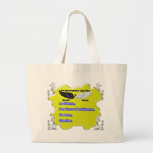 HO'OPONOPONO SPIRITS, CUSTOMIZABLE PRODUCTS BAGS