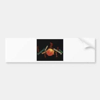 Hoops Basketball Sport Fanatics.jpg Bumper Sticker