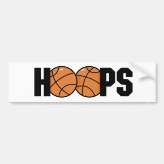 Hoops Bumper Sticker