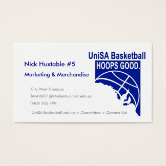 Hoops Good Business Card