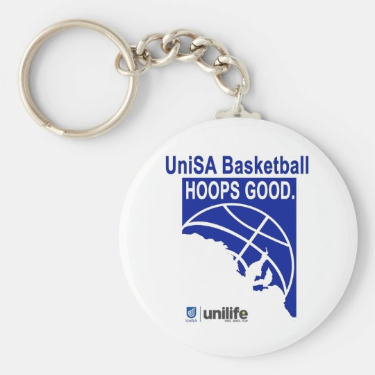 Hoops Good Keychain