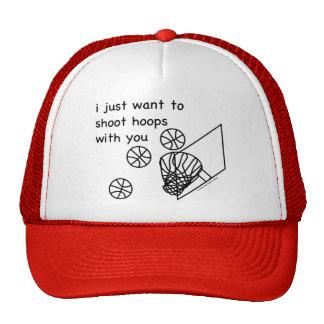 Hoops Mesh Hat