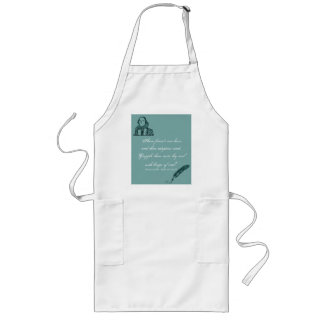 Hoops of Steel Shakespeare Quote Long Apron