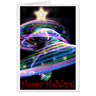 Hoopy Holidays Greeting Card