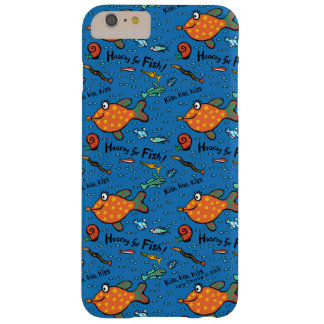 Hooray For Fish Pattern Barely There iPhone 6 Plus Case
