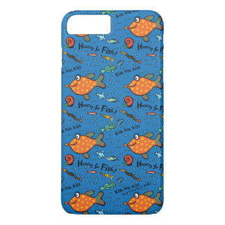 Hooray For Fish Pattern iPhone 8 Plus/7 Plus Case