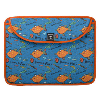 Hooray For Fish Pattern Sleeve For MacBooks