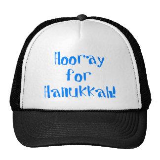 Hooray for Hanukkah Cap