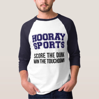 Hooray Sports Score The Dunk - Blue/Navy T-Shirt