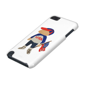 Hooray USA Red, White and Blue Toddie Time July 4 iPod Touch (5th Generation) Cover
