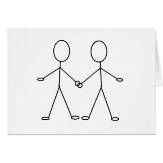 HOORAY !! YOU'RE GAY !! CARD