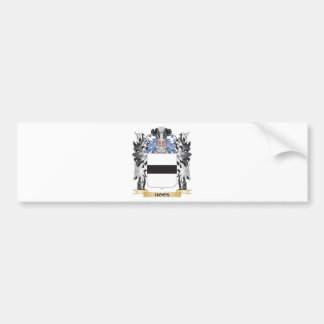 Hoos Coat of Arms - Family Crest Bumper Sticker