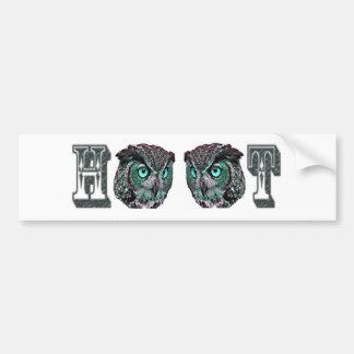 Hoot Bumper Stickers