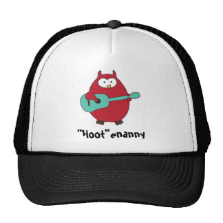 """Hoot""enanny Owl Cap"