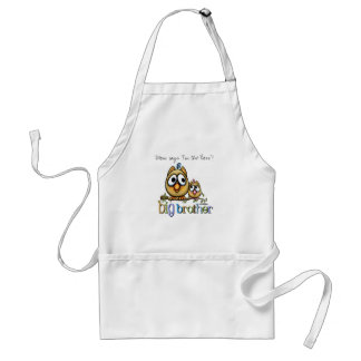 Hoot for Big Brother - Baby Sis Standard Apron