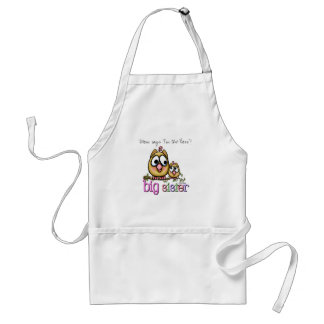 Hoot for Big Sister Standard Apron