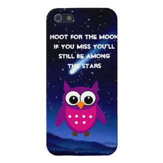 HOOT for the Moon Owl  iPhone 5 Case