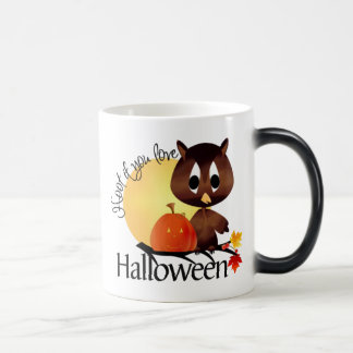 Hoot if you Love Halloween Morphing Mug