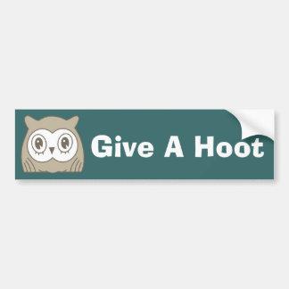 Hoot OWL Bumper Stickers