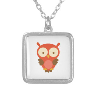 Hoot Owl Personalized Necklace