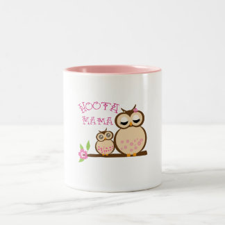 Hoota Mama Two-Tone Mug