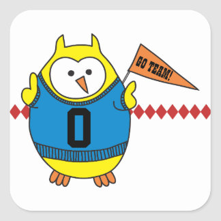 Hooter Rooter Owl Sticker