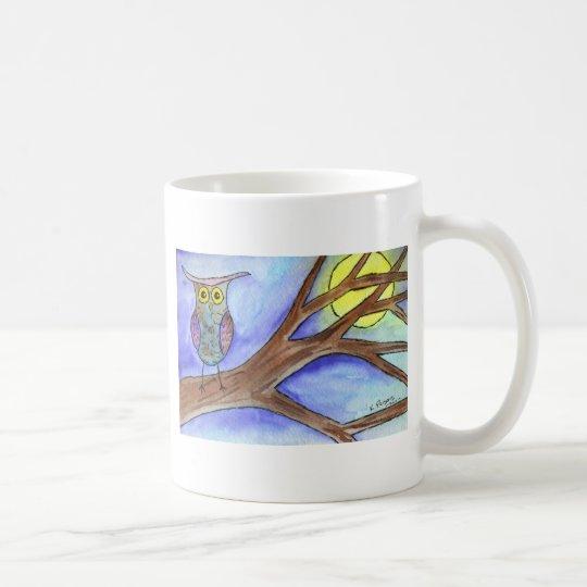 Hooting at the Moon Coffee Mug