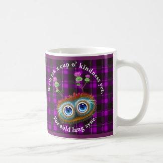 Hoots Toots Haggis. Auld Lang Syne. Classic White Coffee Mug
