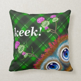 Hoots Toots Haggis. Keek! Cushions
