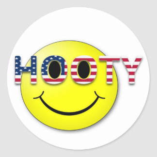 Hooty Classic Round Sticker