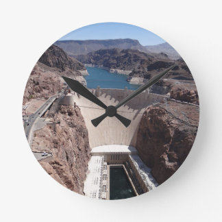 Hoover Dam 3 Round Clock