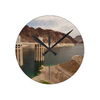Hoover Dam 4 Round Clock