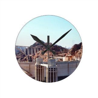 Hoover Dam 5 Round Clock