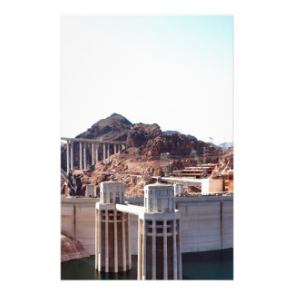 Hoover Dam 5 Stationery Paper