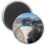 Hoover Dam 6 Cm Round Magnet