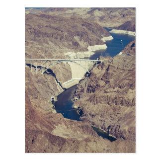Hoover Dam Aerial Postcard