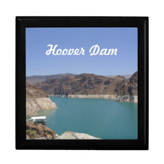 Hoover Dam Box Large Square Gift Box